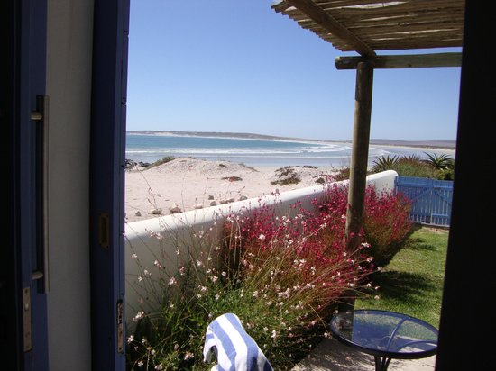 Zula Beach House and Cottage: View from the bed