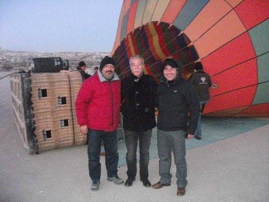 Goreme Balloons : Kalkış hazırlıkları