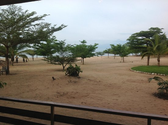 Hotel Club du Lac Tanganyika : View from my room