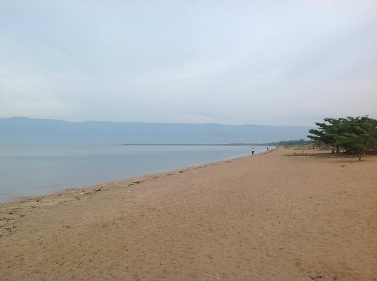 Hotel Club du Lac Tanganyika : Lake