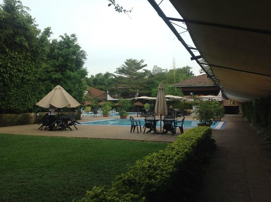Hotel Club du Lac Tanganyika : Pool