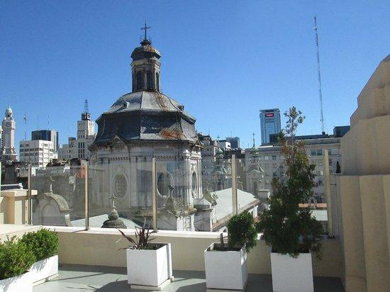 Moreno Hotel Buenos Aires : Solarium, near breakfast
