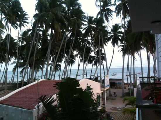 Sunrise Village Hotel: Vue du balcon
