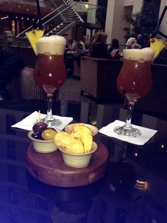 Sofitel London Gatwick: Lovely cocktails !!