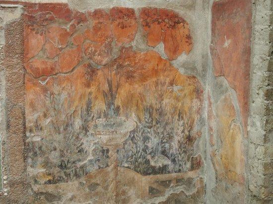 Ruins of Herculaneum: scavi