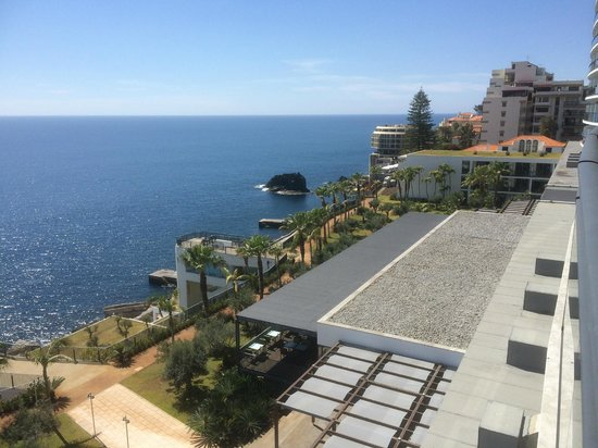 Vidamar Resort Madeira: View from our Balcony