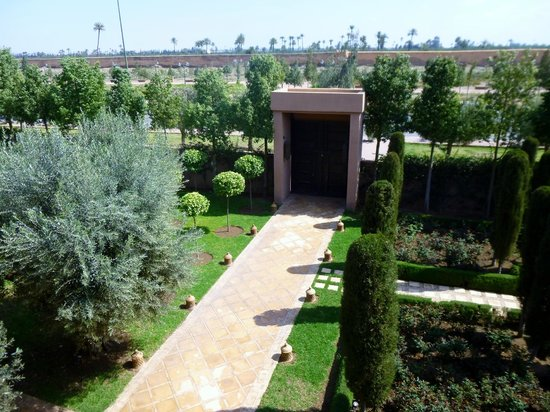 Al Fassia Aguedal : vue de la chambre