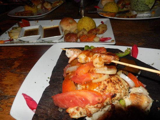 Habanero's Restaurant : Thai snapper at Habenero's