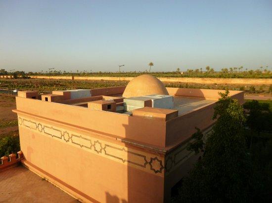Al Fassia Aguedal: vue de la terrasse