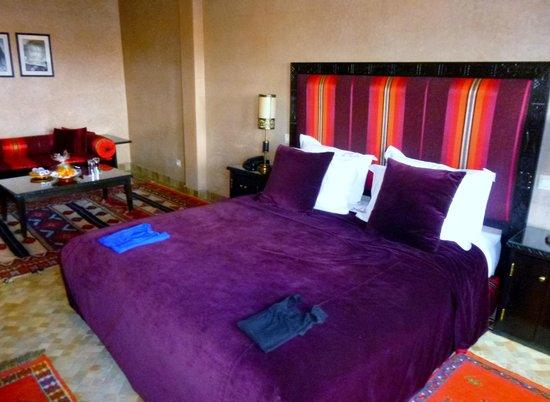Al Fassia Aguedal: chambre