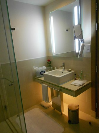 Traders Hotel, Qaryat Al Beri, Abu Dhabi: Well appointed with both shower and bath as well as a bidet