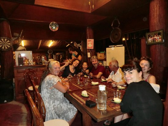 Tonnam Homestay : the evenings were a great laugh and very french!