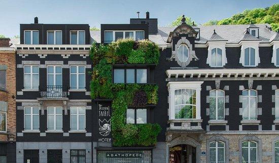 The Royal Snail Hotel : façade