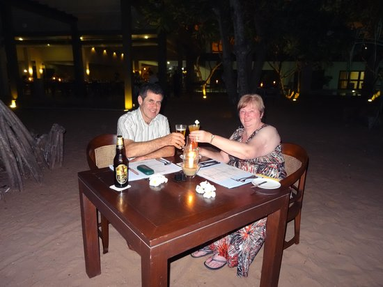 Jetwing Beach: Romantic dinner for 2 on the beach
