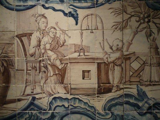 Museu do Azulejos : Una ingenua representación de la vida cotidiana