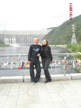 Sayanogorsk, รัสเซีย: цель нашего путешествия