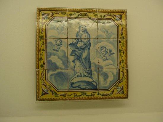 Museu do Azulejos : Una Asunción de la Virgen de gran belleza