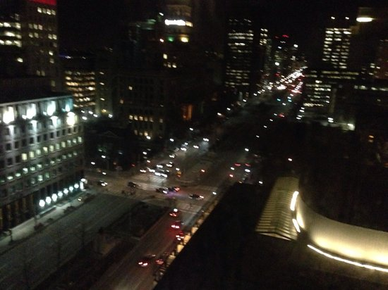 Hilton Toronto: View from our 17th floor room
