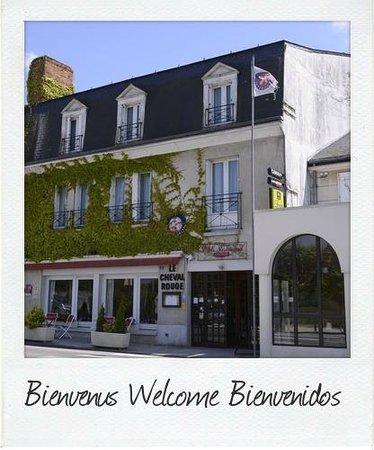 Restaurant Le Cheval Rouge : Façade