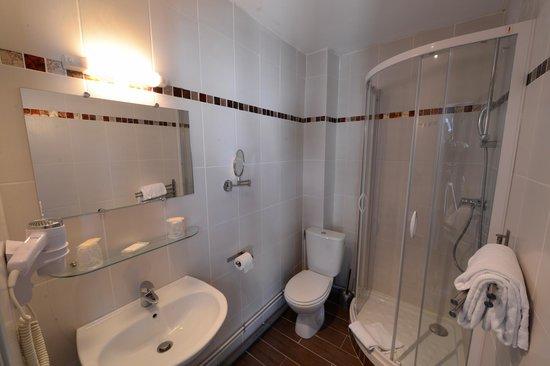 Les Trois Lys : Salle de bain douche