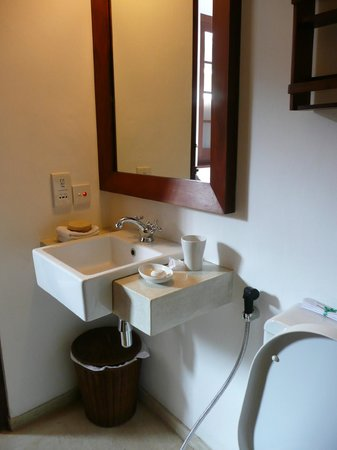 Fortaleza: nice bathroom fittings