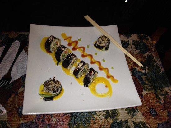 Green Point My Vegan Restaurant: sushis crus