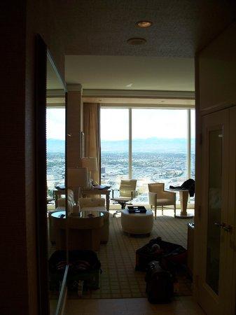 Wynn Las Vegas : Vue de la chambre.