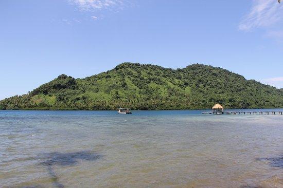 Lalati Resort & Spa: Вид с острова