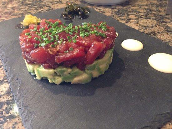 Restaurante Castilla: Tartar de atún