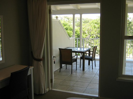 Coral Tree Colony B&B: View of Room Verandah