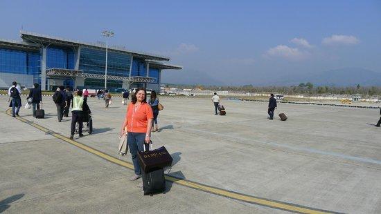Ananda in the Himalayas: vom Flughafen Dehradun nach Rishikesh