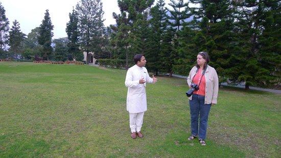 Ananda in the Himalayas: Prashat unser guter Geist