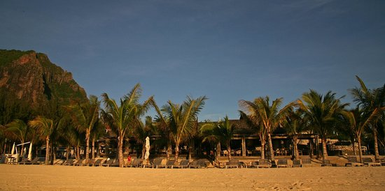 The St. Regis Mauritius Resort : View From Beach