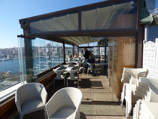 Istanbul Golden City Hotel : roof terrace