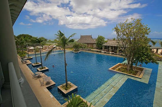 The St. Regis Mauritius Resort: Pool From Room