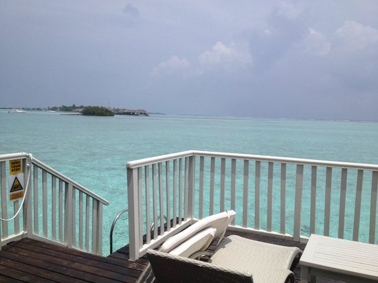 Cinnamon Dhonveli Maldives: view from our deck