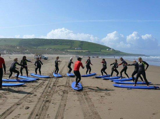 Surf South West: Surf Lesson on the beach at Croyde
