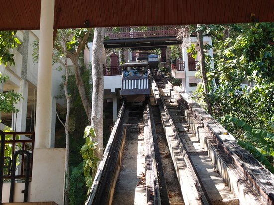 Thavorn Beach Village Resort & Spa: cable cars