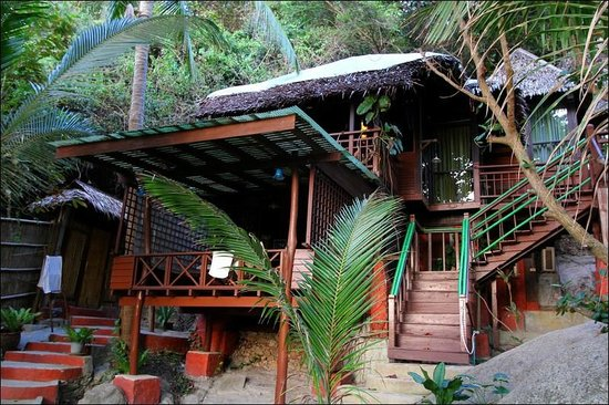 Charm Churee Villa : cottage no 8 (ground level) and 9 (above no 8)