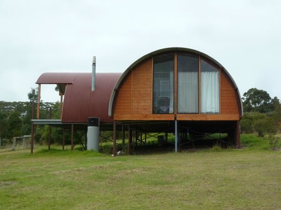 "Tennessee Hill Chalets: The ""Nissen hut"""