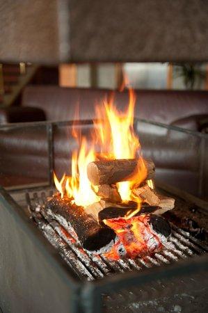 Maita Palace Hotel: lareira para aquecer no inverno