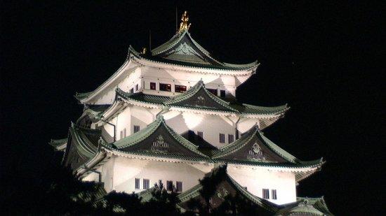 Nagoya Castle : 夜の名古屋城天守閣