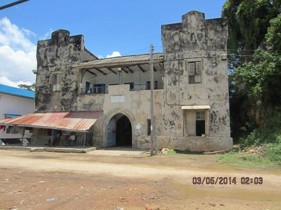 Tanga Tanzania  City new picture : Tanga Region, Tanzania: Historical building in tanga town
