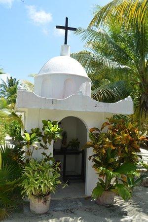 Cabanas Zazilkin: petite chapelle