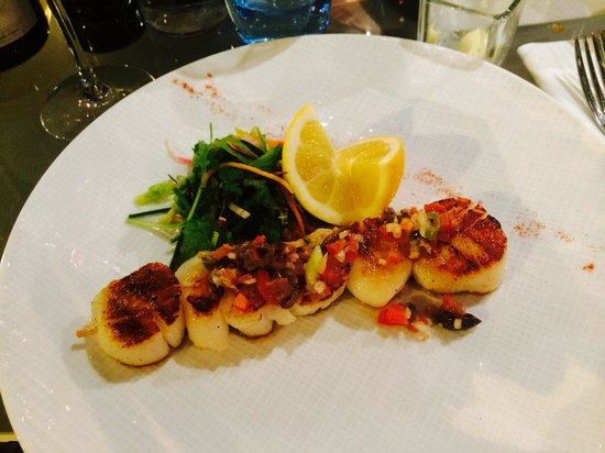 Publicis Drugstore : Beautiful and very tasty scallops