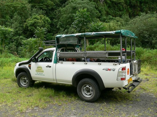 Tahiti Safari Expedition  - Day Tours : Véhicule 4x4