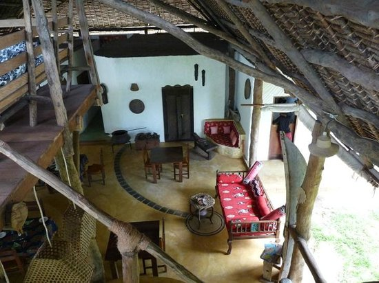 Shamba Kilole Eco Lodge : Hauptgebäude
