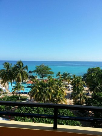 Jewel Dunn's River Beach Resort & Spa, Ocho Rios,Curio Collection by Hilton: View from 5th floor Sapphire Building