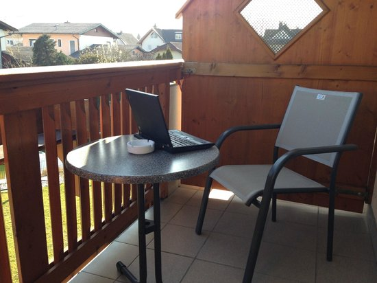 Hotel Himmelreich: My Office for the afternoojn