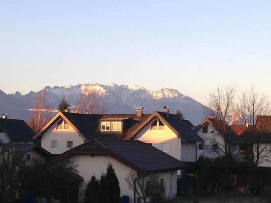 Hotel Himmelreich: View from the balcony
